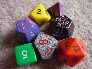 Dadi Dungeons&Dragons